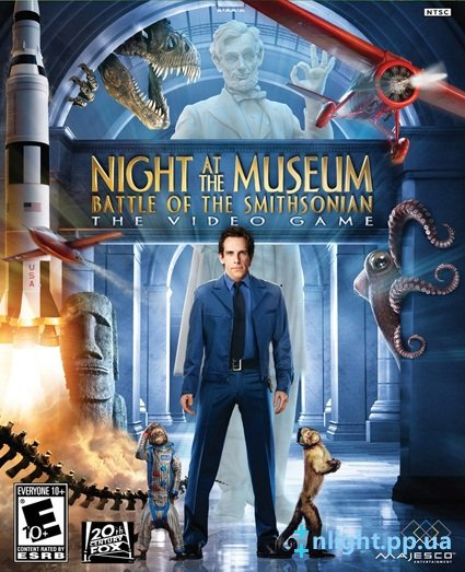 Ночь в музее / Night at the Museum: Battle of the Smithsonian The Video Game (2009) PC
